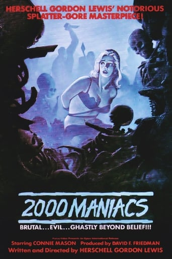 Poster of Two Thousand Maniacs!