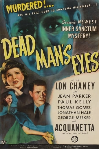 Poster of Dead Man's Eyes