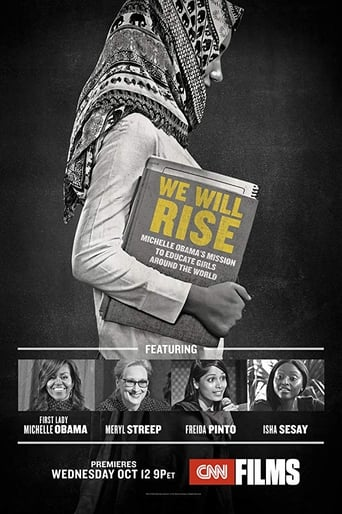 Poster of We Will Rise: Michelle Obama's Mission to Educate Girls Around the World