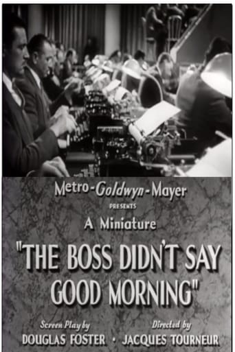 Poster of The Boss Didn't Say Good Morning
