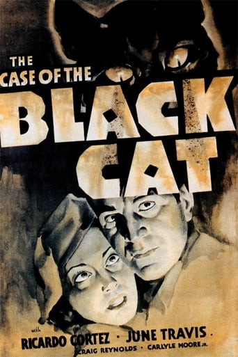 Poster of The Case of the Black Cat