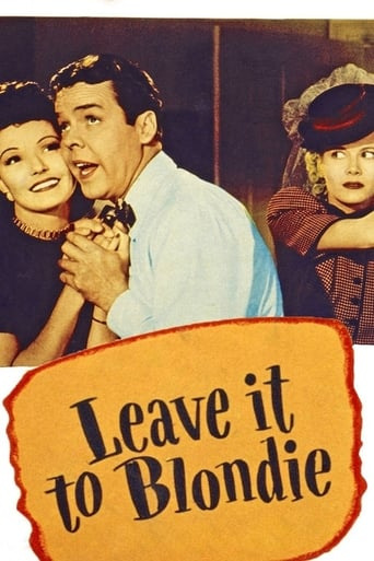 Poster of Leave It to Blondie