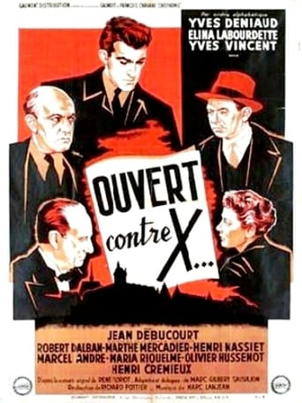 Poster of Ouvert contre X