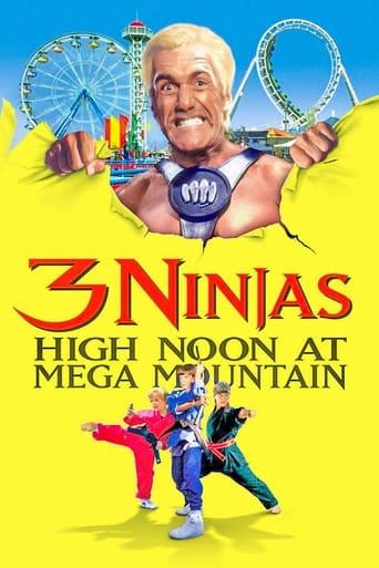 Poster 3 Ninjas: High Noon at Mega Mountain