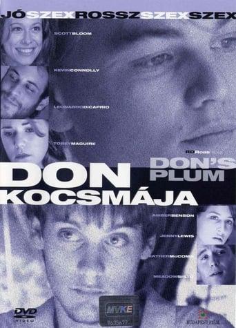 Poster of Don's Plum (nunca digas lo que piensas)