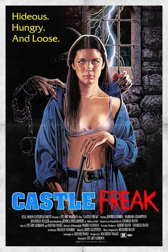 Castle Freak movie poster