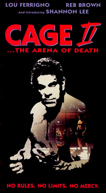 Poster of Cage II: The Arena of Death