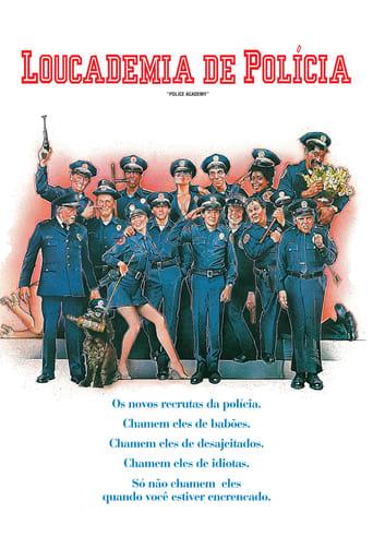 Loucademia de Polícia - Poster
