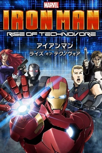 Cartoni animati Iron man - Rise of technovore - ????????????????????