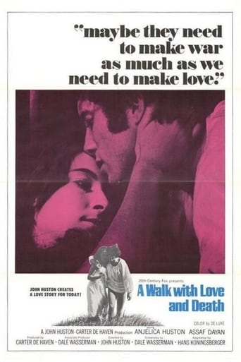 Poster of A Walk with Love and Death