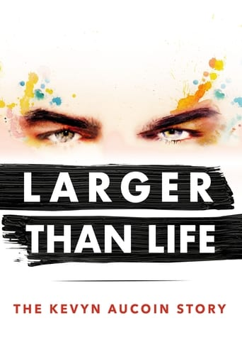 Poster of Larger than Life: The Kevyn Aucoin Story