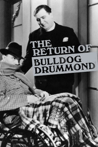 Poster of The Return of Bulldog Drummond