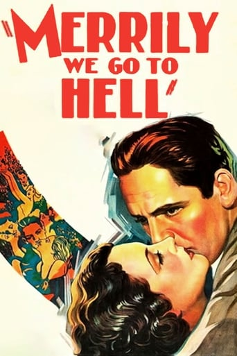 Poster of Merrily We Go to Hell
