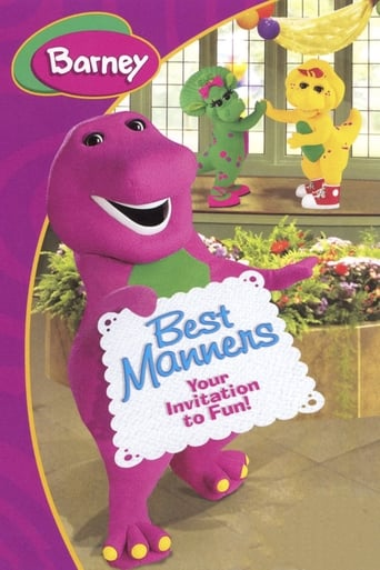Poster of Barney's Best Manners: Invitation to Fun