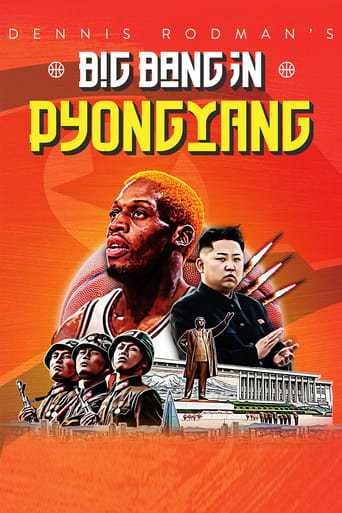 Poster of Dennis Rodman's Big Bang in PyongYang