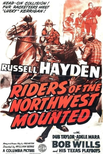Poster of Riders of the Northwest Mounted