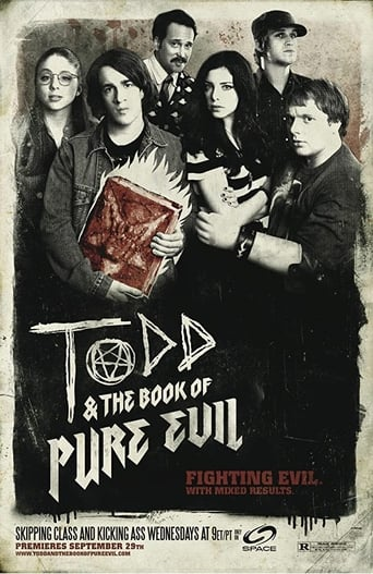 Poster of Todd and the Book of Pure Evil