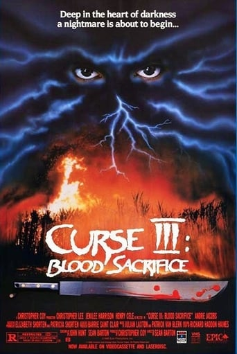 Poster of Curse III: Blood Sacrifice