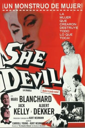 Poster of La diabla (She Devil)
