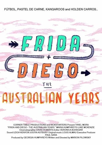 Poster of Frida and Diego: The Australian Years