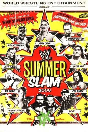 Poster of WWE SummerSlam 2009