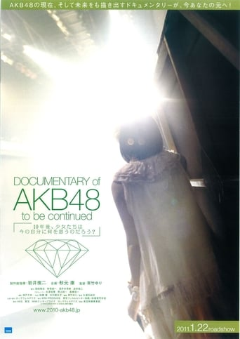 Poster of Documentary of AKB48 To Be Continued