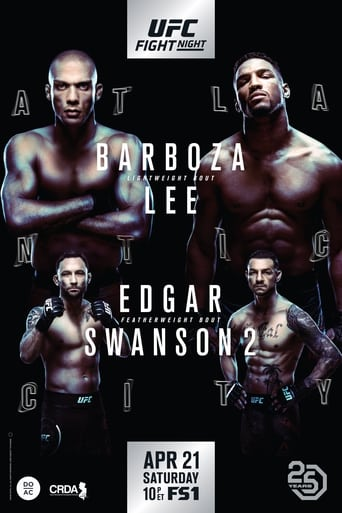 Poster of UFC Fight Night 128: Barboza vs. Lee