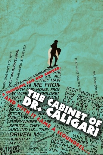 Poster of The Cabinet of Dr. Caligari