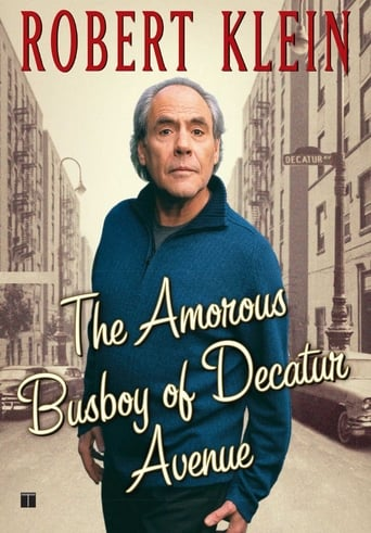 Poster of Robert Klein: The Amorous Busboy of Decatur Avenue