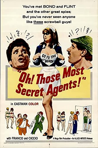 Poster of Oh! Those Most Secret Agents