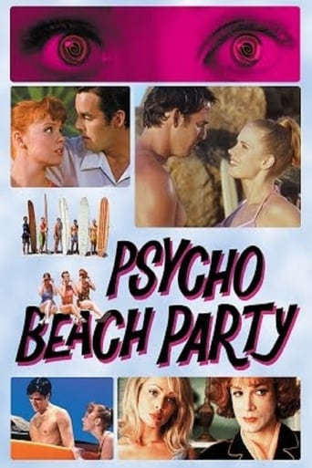 Poster of Psycho Beach Party