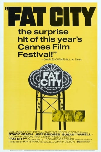 Fat City (1972) - poster