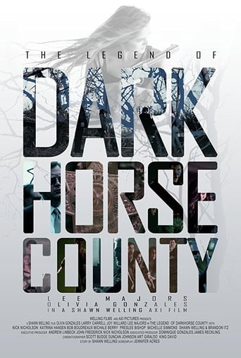Poster of The Legend of DarkHorse County