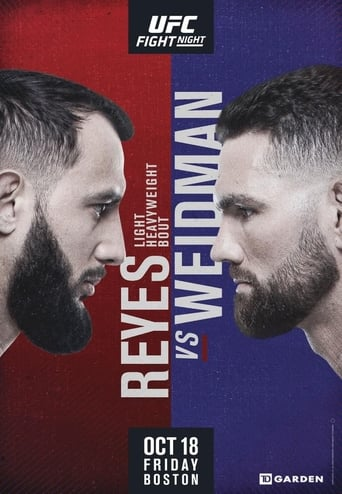 Poster of UFC on ESPN 6: Reyes vs. Weidman