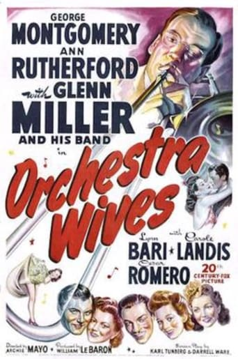 Poster of Orchestra Wives