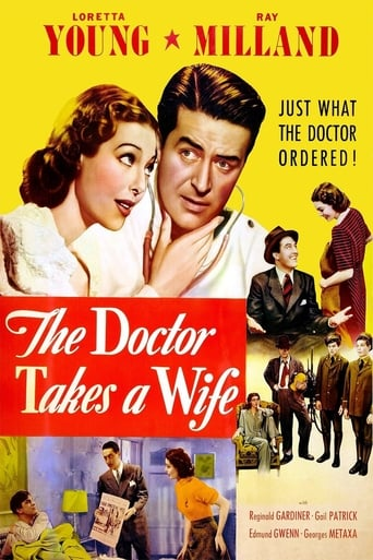 Poster of The Doctor Takes a Wife