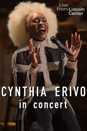 Poster of Cynthia Erivo in Concert