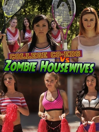 Poster of College Coeds vs. Zombie Housewives