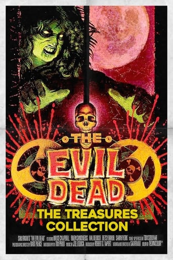 Poster of The Evil Dead: Treasures from the Cutting Room Floor