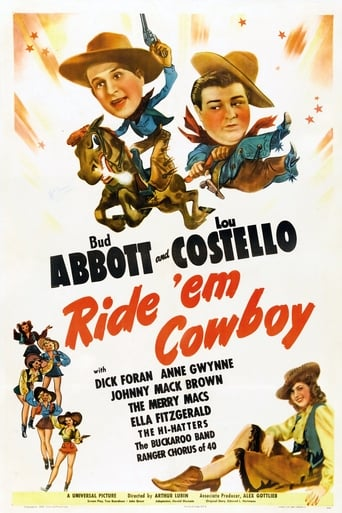 Poster of Ride 'Em Cowboy