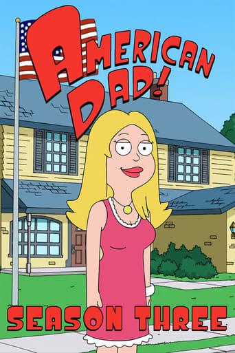 American Dad! 3ª Temporada - Poster
