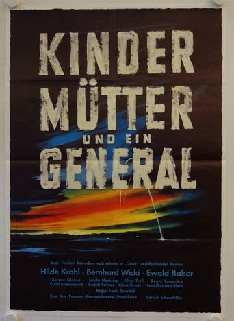 Poster of Children, Mother, and the General