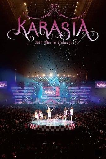 Poster of KARA 1st JAPAN TOUR 2012 KARASIA