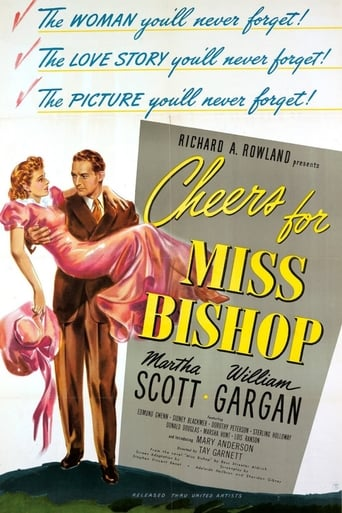 Poster of Cheers For Miss Bishop