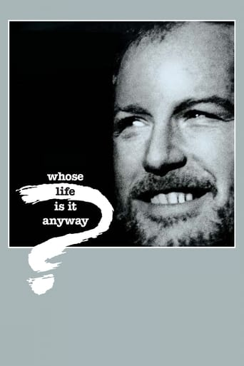 Poster of Whose Life Is It Anyway?