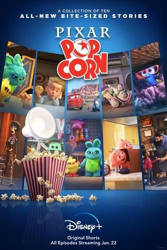 Pixar Popcorn Poster