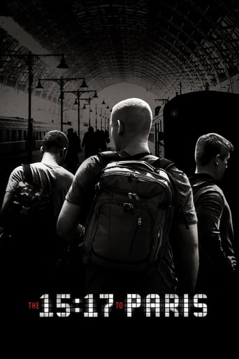 Poster of The 15:17 to Paris
