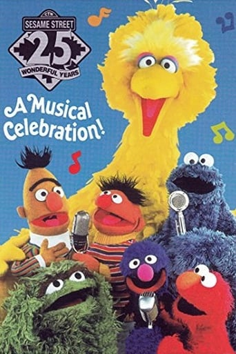 Poster of Sesame Street: 25 Wonderful Years: A Musical Celebration!