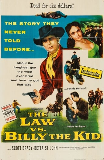 Poster of The Law vs. Billy the Kid