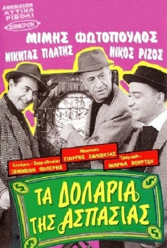 Poster of Τα δολάρια της Ασπασίας